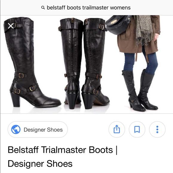 b9054d4e137 Belstaff Shoes   Alligator Boots Trialmaster Booties Tall   Poshmark